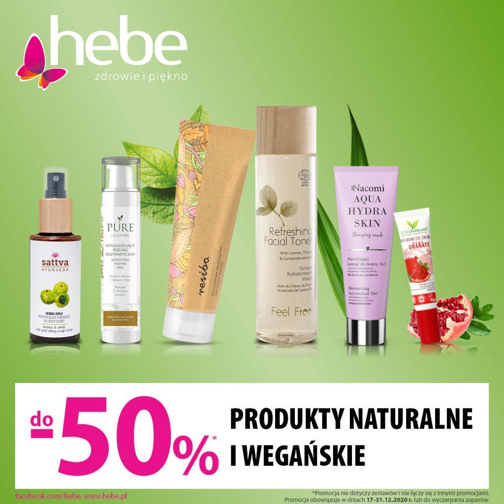 Produkty nauralne i Wegańskie do -50%