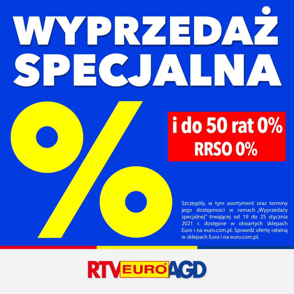 Wyprzedaż specjalna RTV EURO AGD