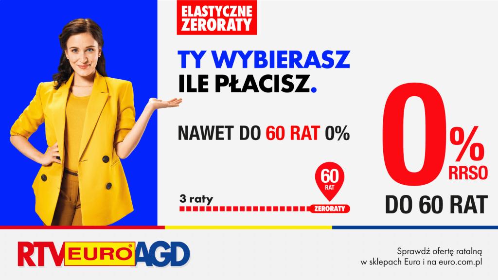 Elastyczne Zeroraty w RTV Euro AGD