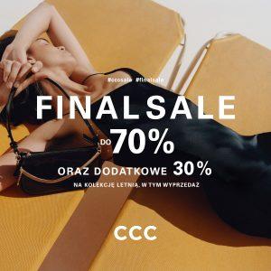 Finalna wyprzedaż w sklepach CCC